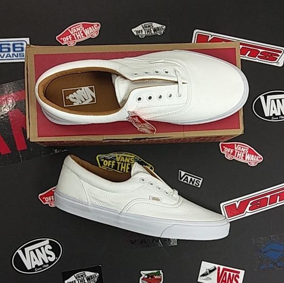 f197d826456f Vans Premium Leather True White Era s. M 5be9d7c83e0caa39ce97af2e